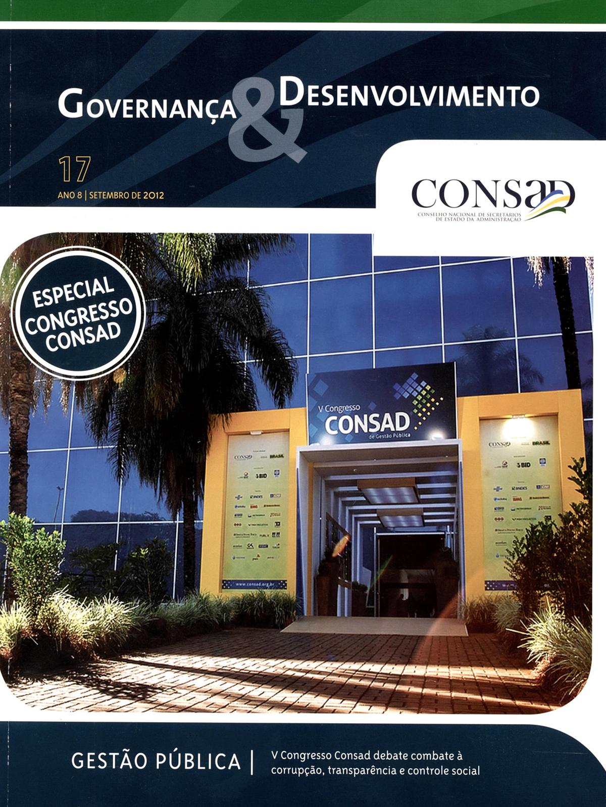 Revista do Consad Número 17 – Setembro de 2012