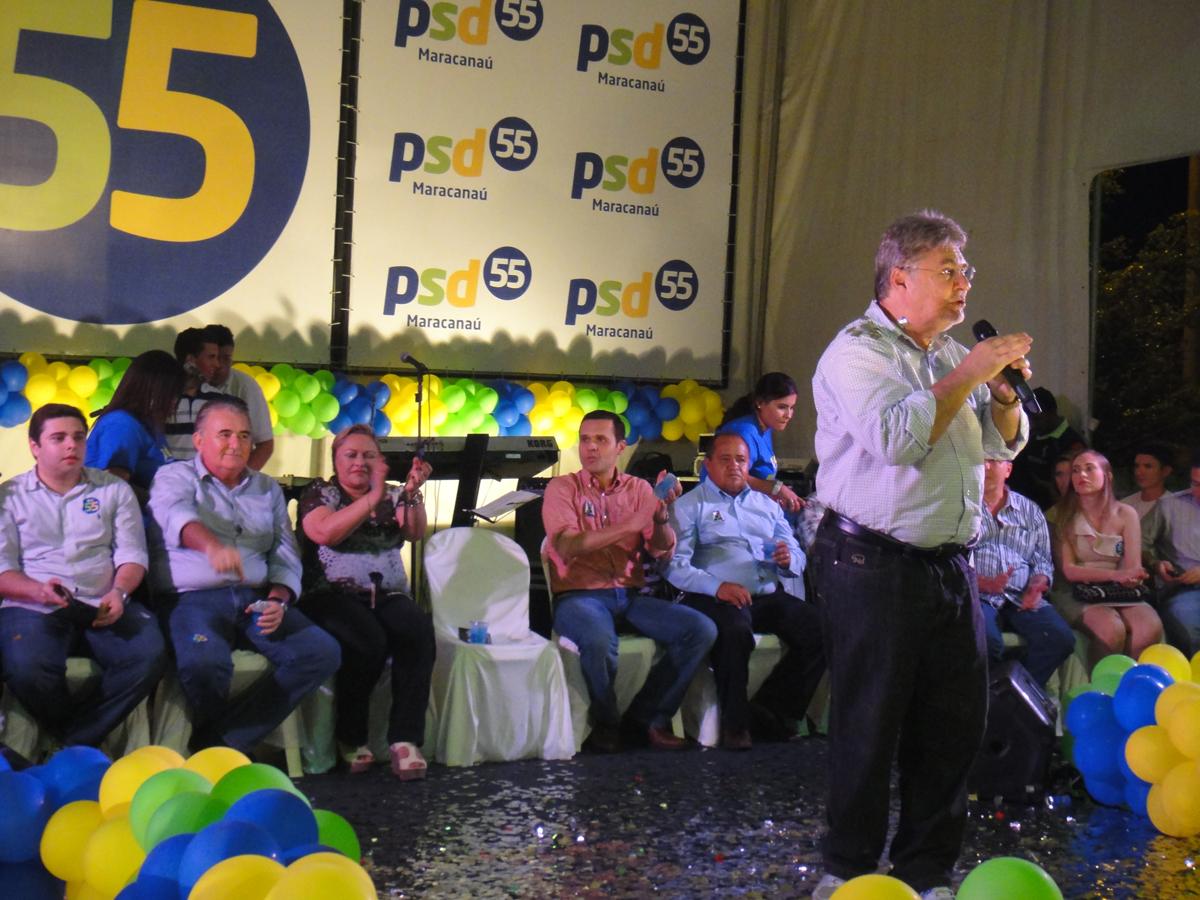 Encontro do PSD em Maracanaú