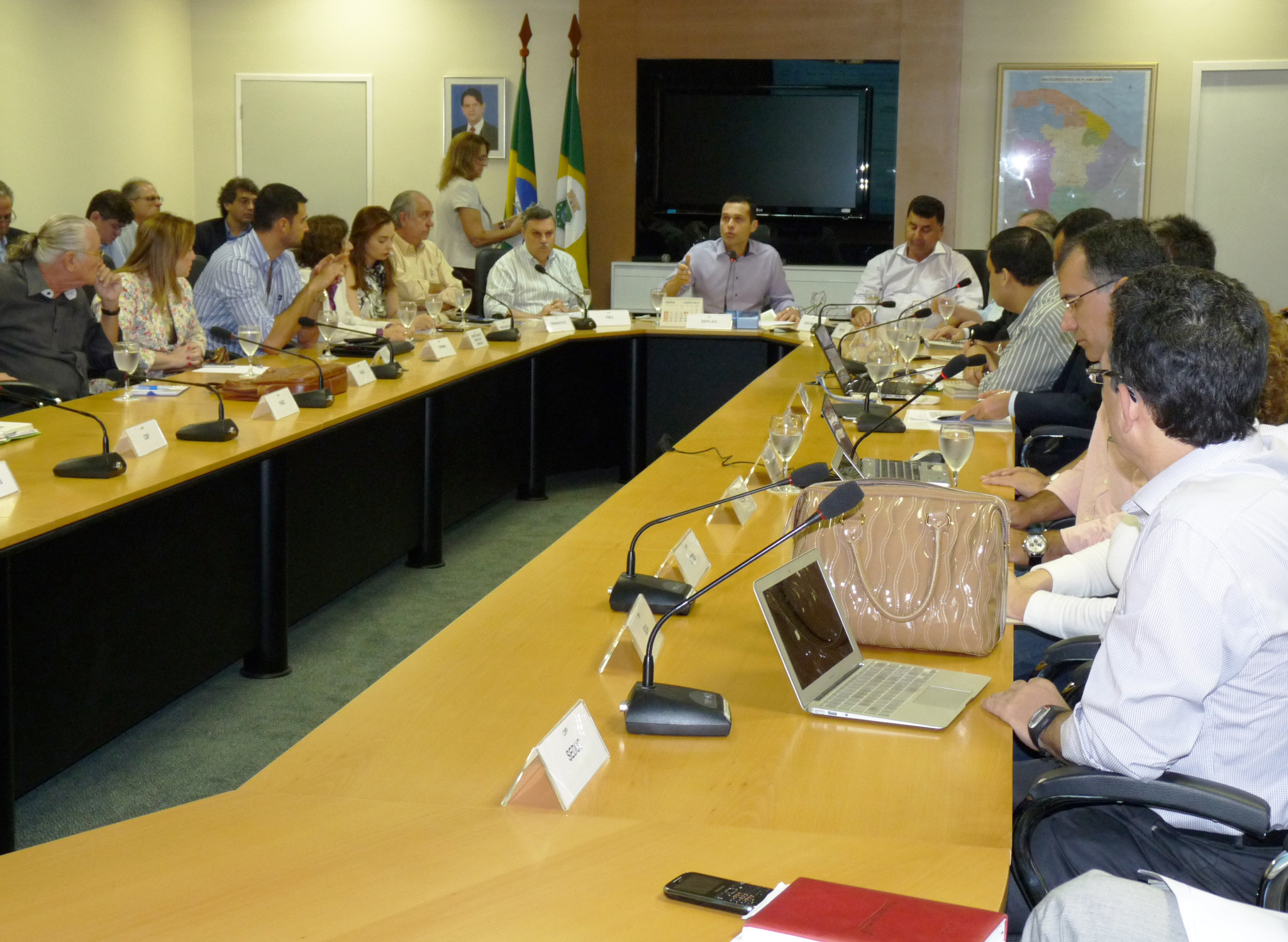 Conselho Gestor do Pecém tem novo encontro na Seplag