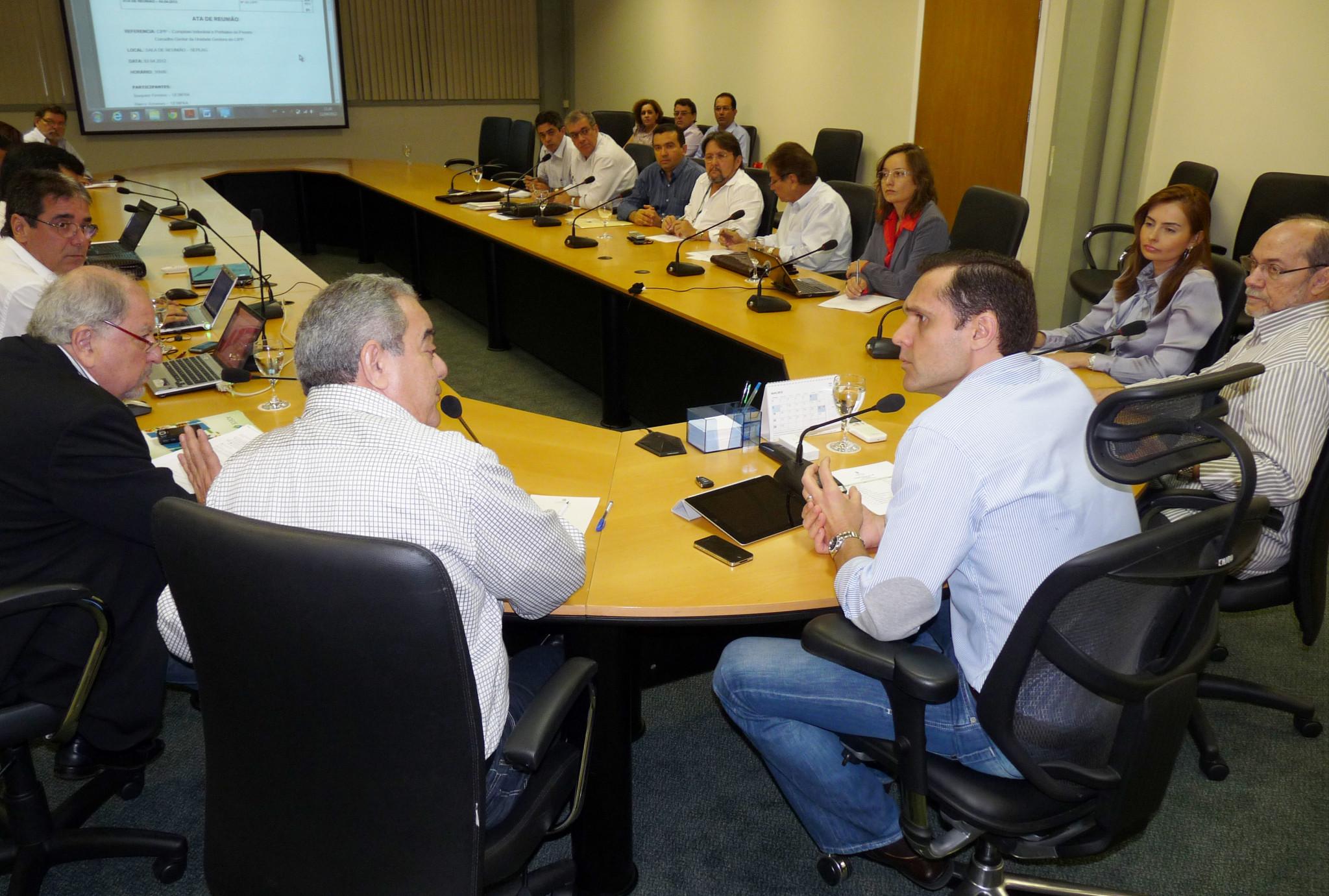 CIPP reúne conselheiros na SEPLAG
