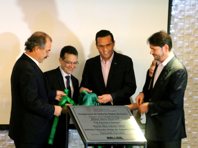 Cinturão Digital beneficiará 85% da população urbana do Ceará