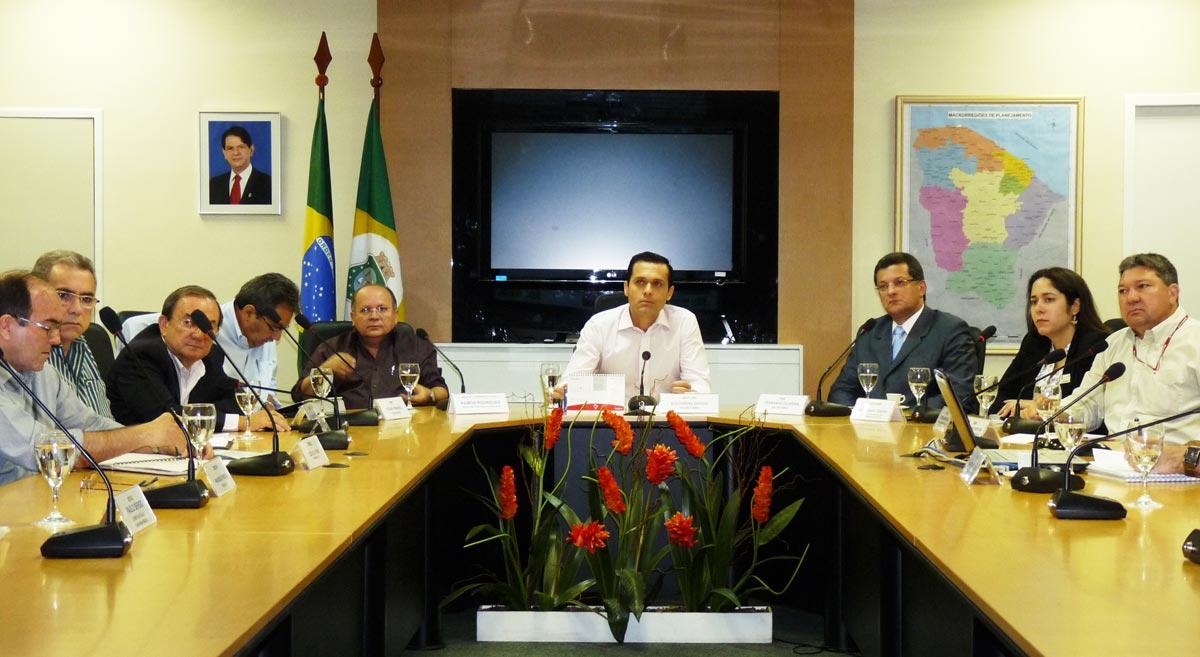 Dirigentes debatem o Programa Nacional de Irrigação