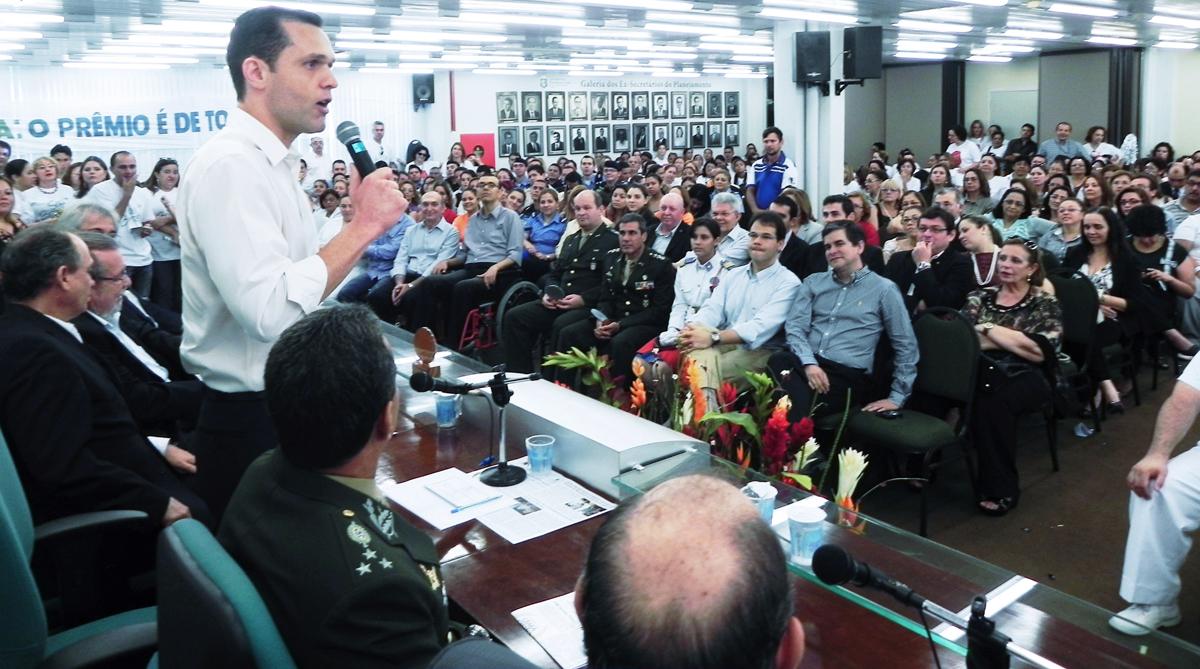 Organizações lotam auditório para receber Prêmio Ceará Gestão Pública