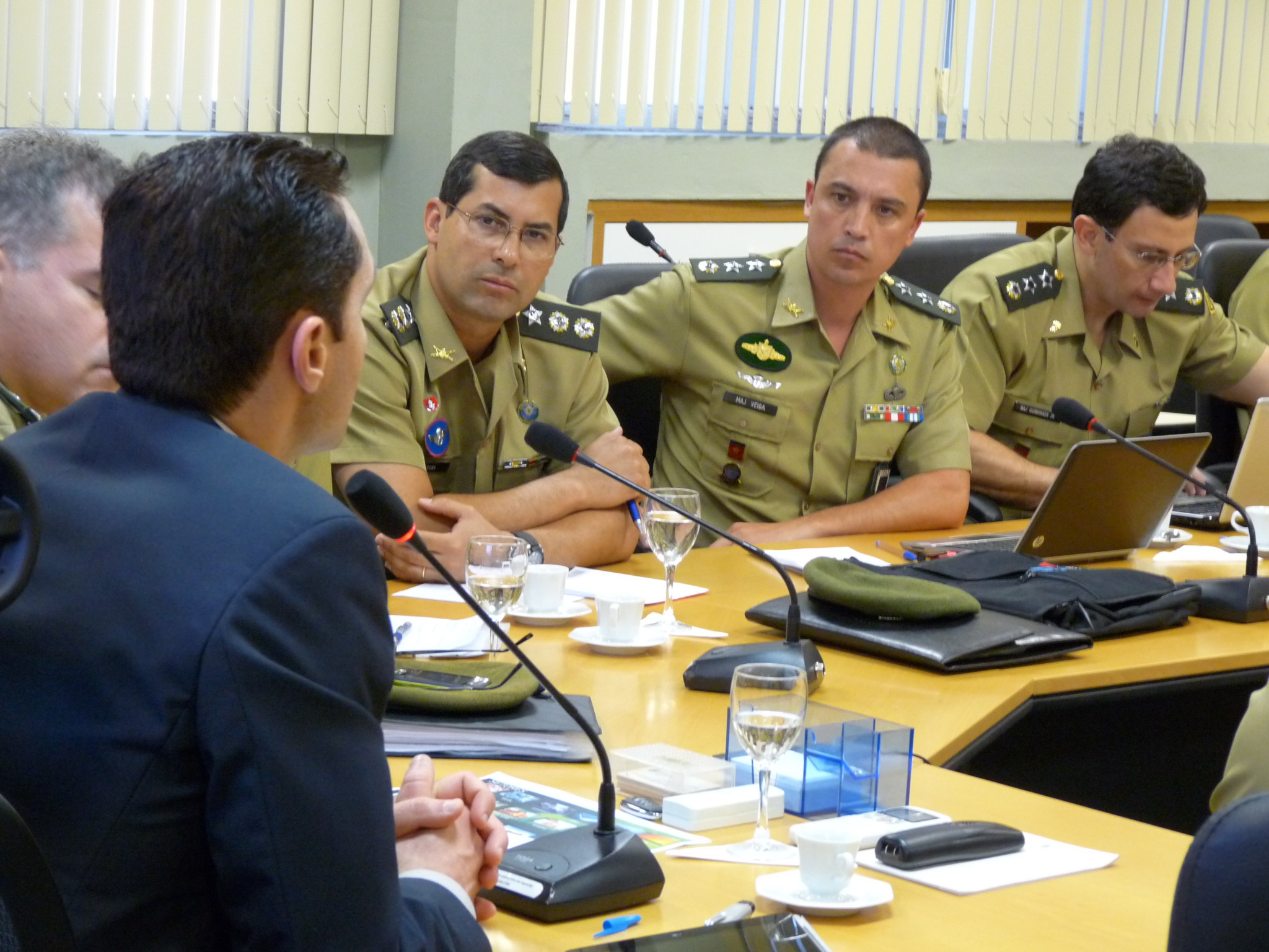 Secretário fala dos investimentos para oficiais do Exército