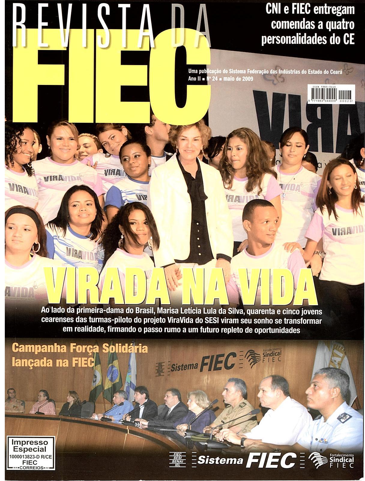 Reportagem na revista da FIEC sobre a implantação das ZPEs no Ceará