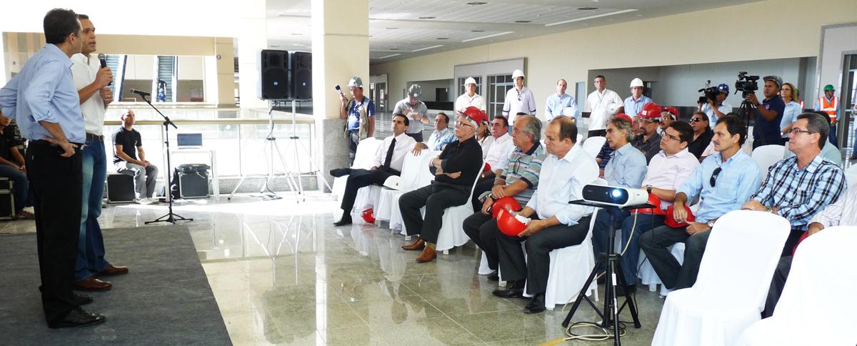 Secretários destacam importância do Centro de Eventos para economia do Ceará
