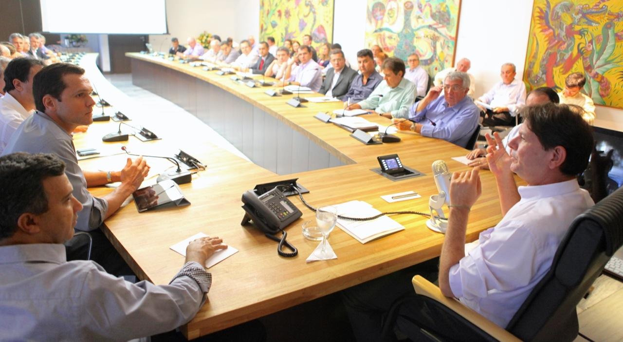 Governador recebe Conselho Gestor do CIPP