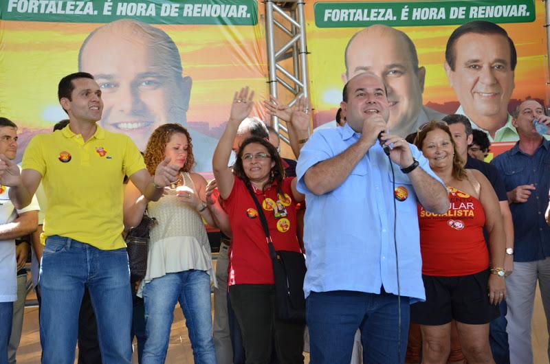 Encontro em Apoio à Roberto Cláudio no comitê de campanha