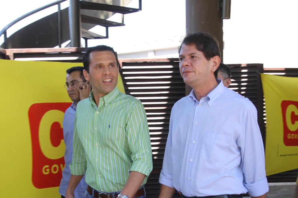 Almoço com Empresários no Mucuripe Club durante a campanha Cid 40