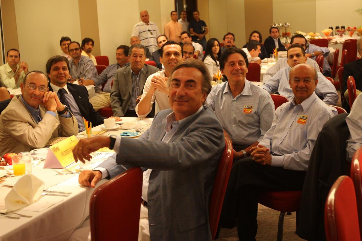Almoço da Câmara Brasil Portugal com o Governador, durante a Campanha Cid 40