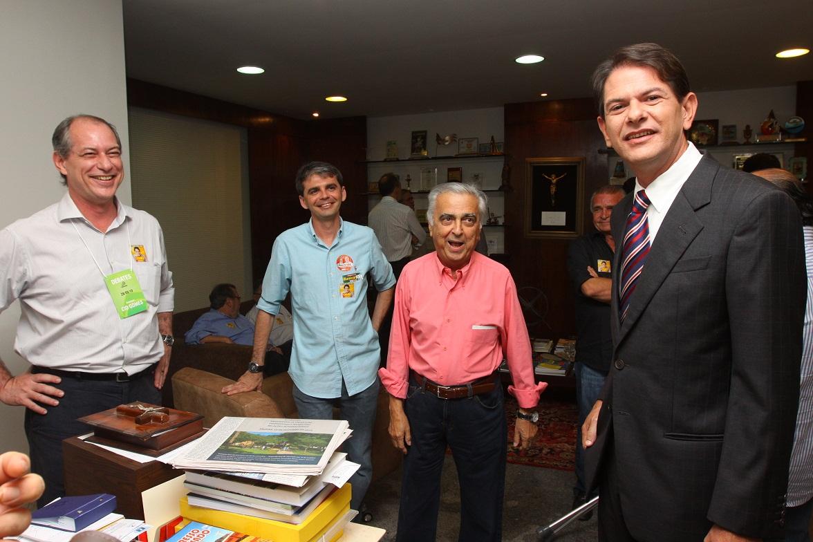 Debate do Governador Cid Gomes na TV Verdes Mares