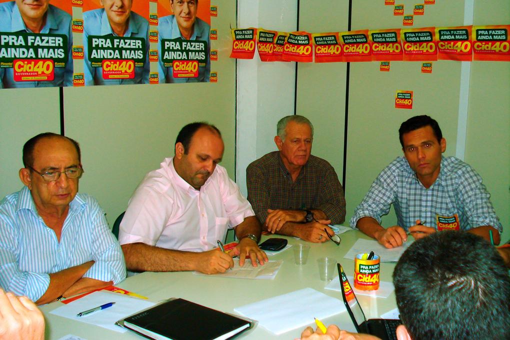Reunião do grupo de Industria e Mineração na Campanha Cid 40