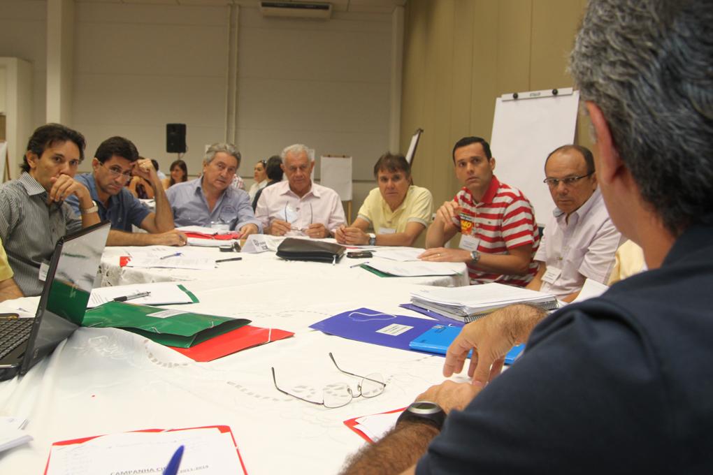 Reunião Planejamento na Campanha Cid 40 no Marina Park Hotel