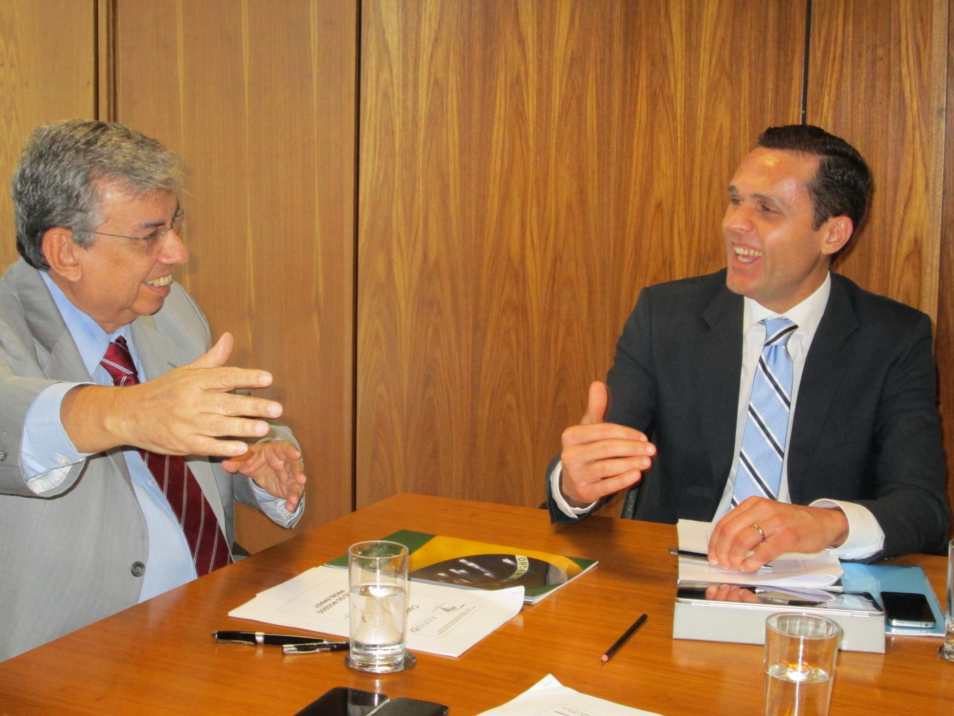 Secretário participa de reunião no Ministério da Previdência