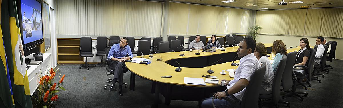 Videoconferência debate planejamento estratégico de longo prazo