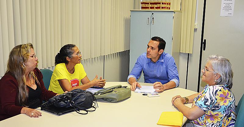 Secretário reúne-se com coordenadores do FUASPEC