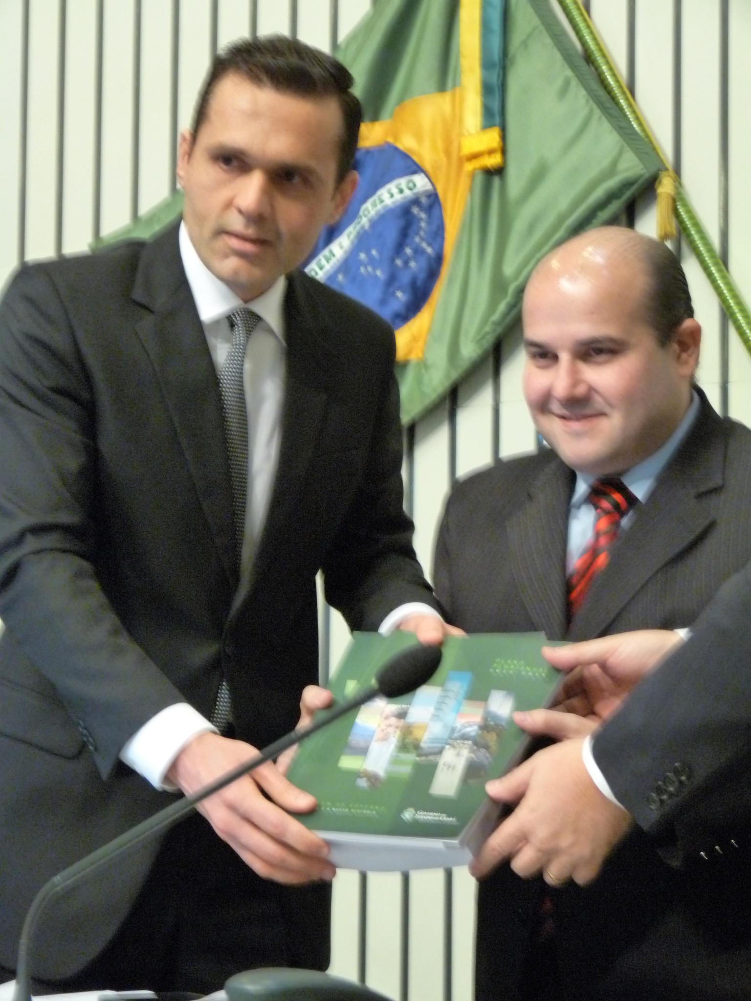 Secretário agradece participação na elaboração do PPA