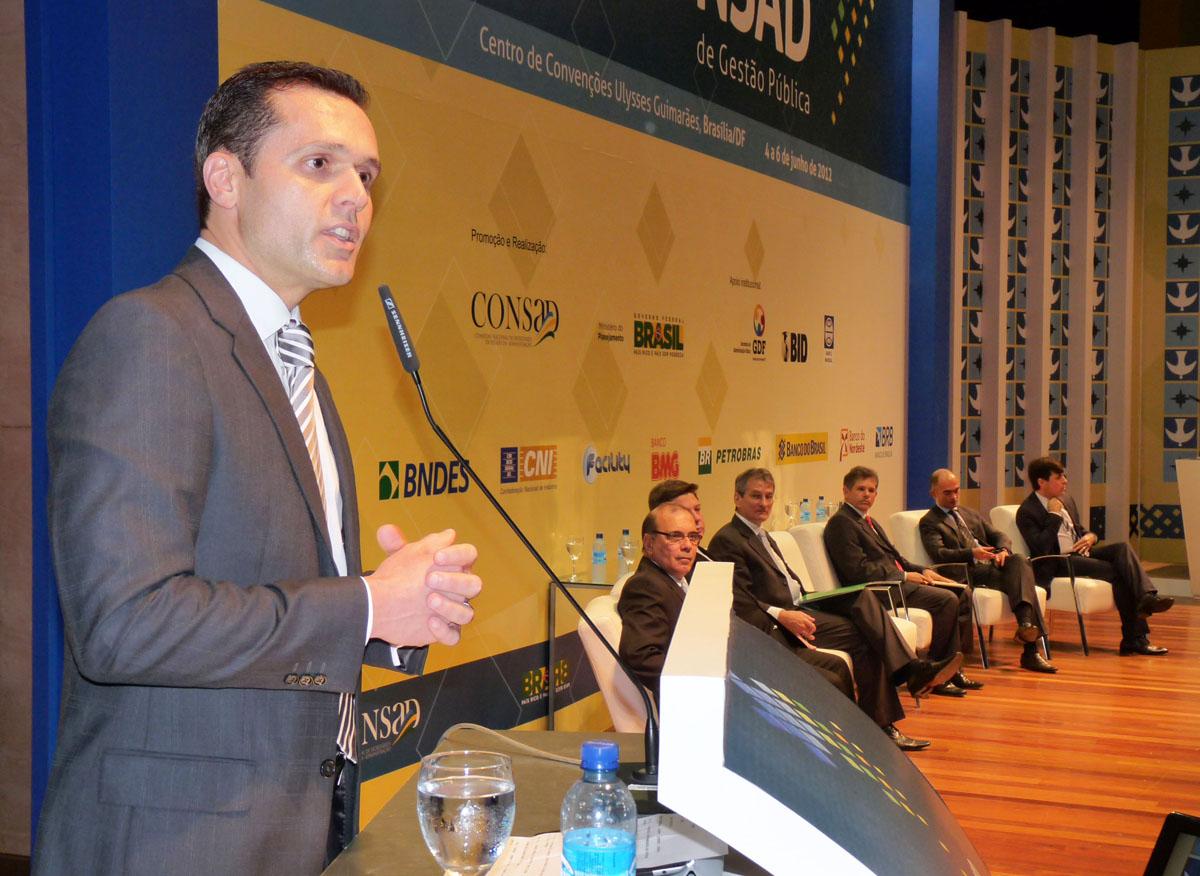 Presidente do Consad defende cooperação entre estados