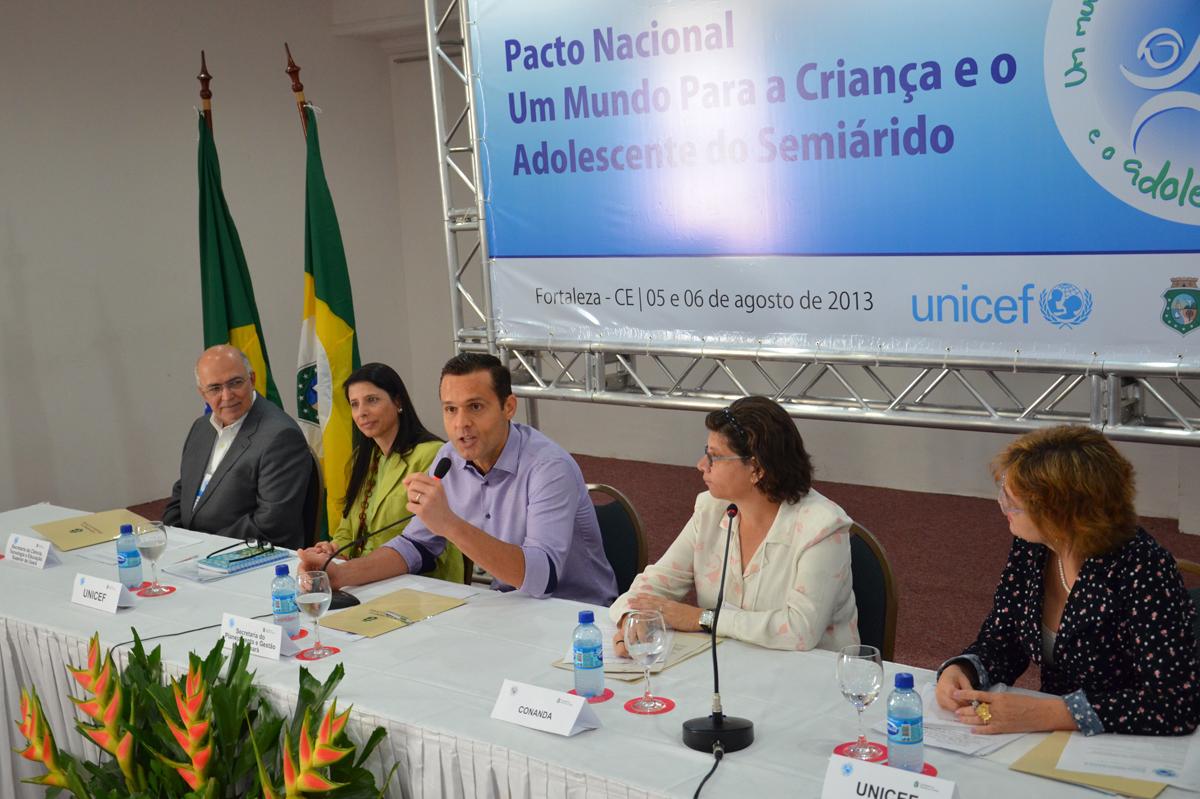 Iniciada Reunião do Pacto Nacional da Criança e Adolescente