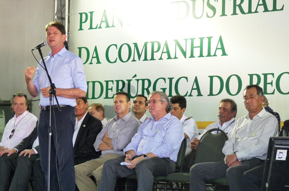 """Siderúrgica no Ceará é irreversível"""