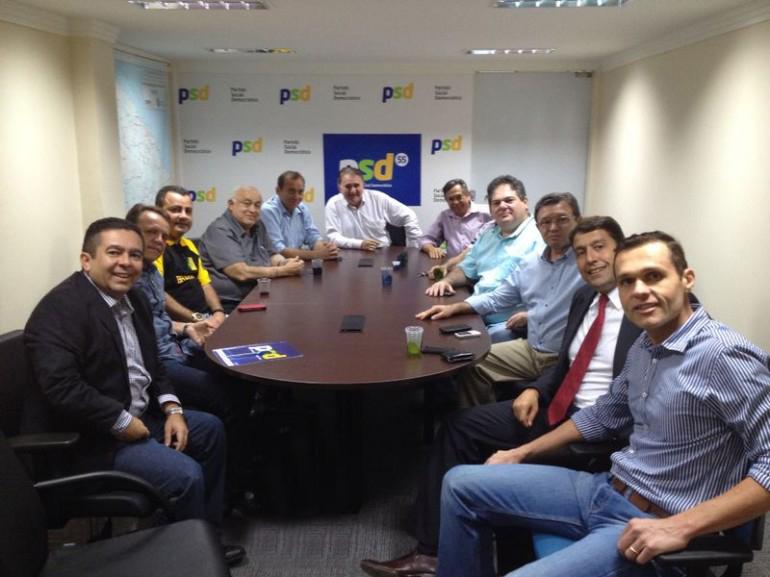 Executiva Estadual do PSD se reúne