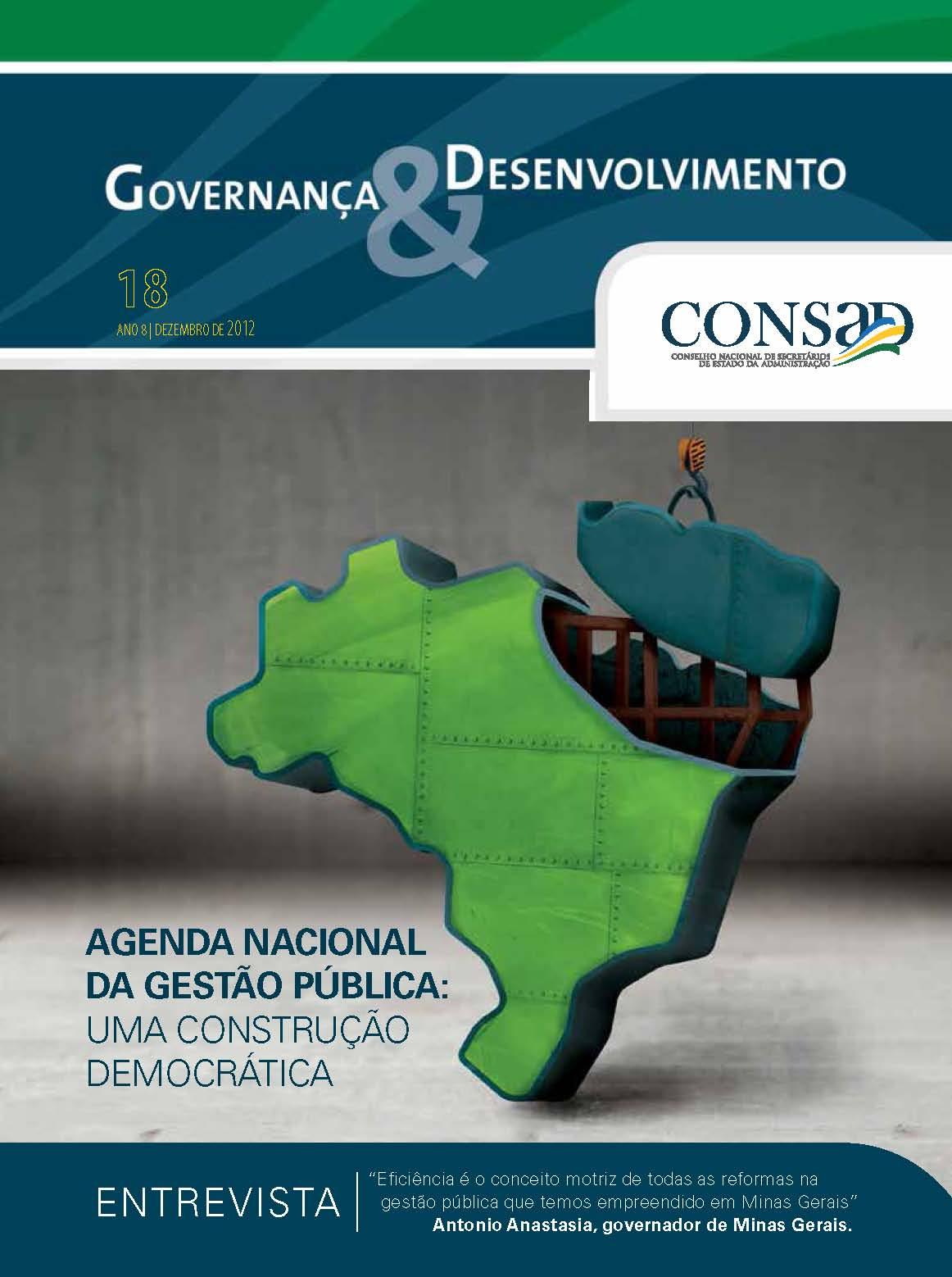 Revista do Consad Número 18 – Dezembro de 2012