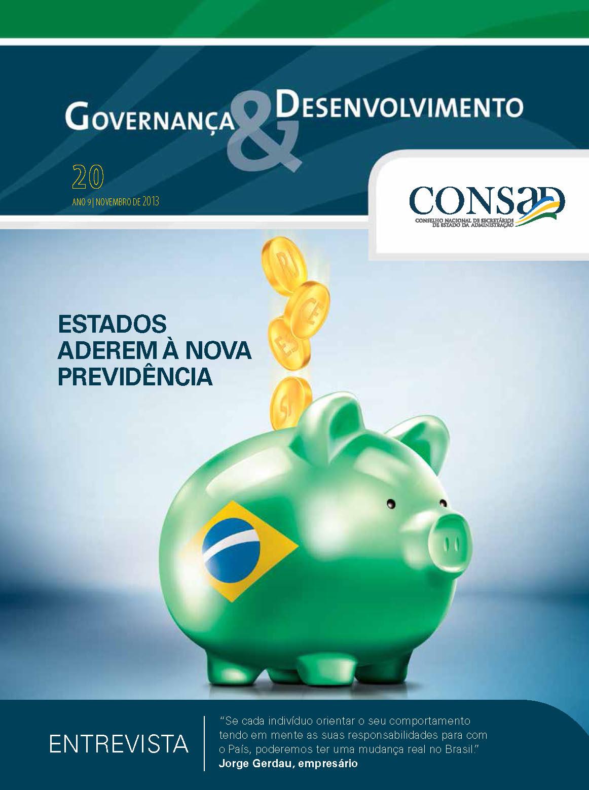 Revista do Consad Número 20 – Novembro de 2013