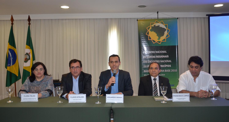 Encontro Nacional do IBGE debate Contas Regionais e PIB dos Municípios