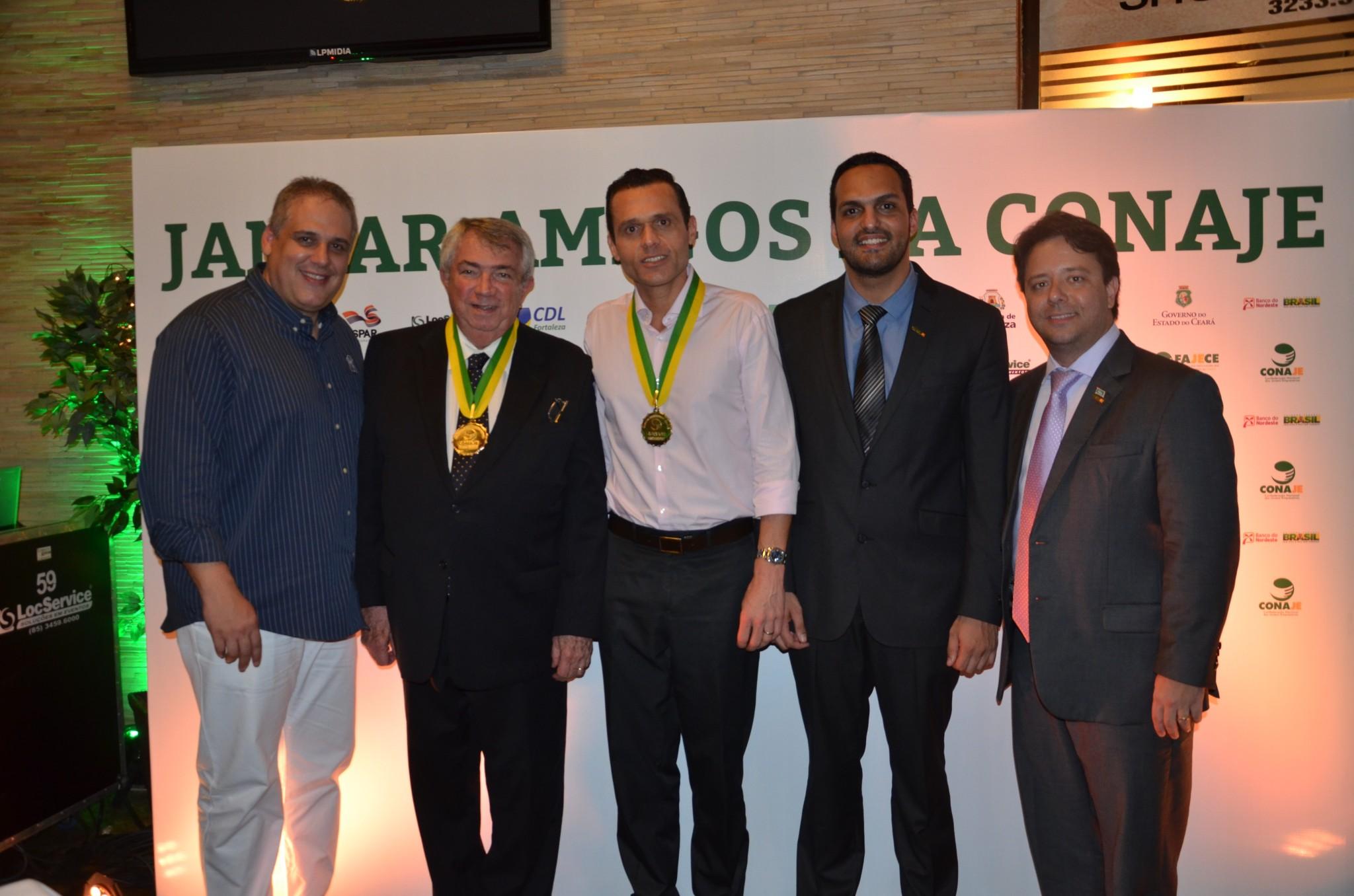 Eduardo Diogo recebe homenagens da FAJECE e CONAJE
