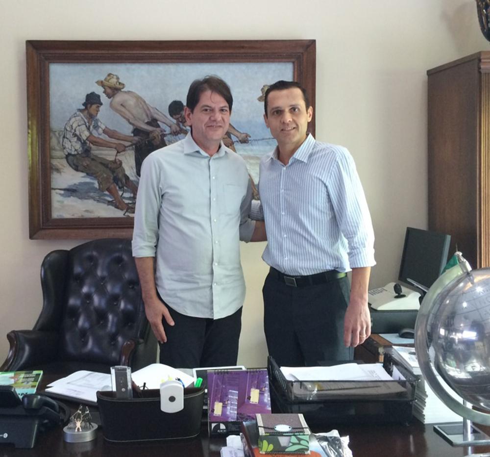 Última reunião com o Governador Cid Gomes na Gestão 2011-2014