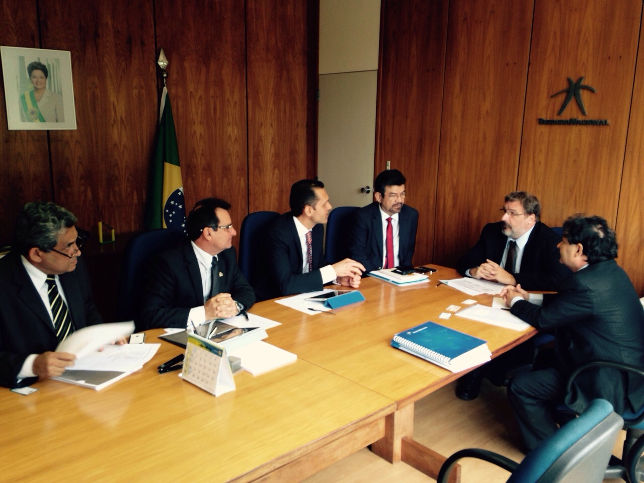 Secretários promovem entendimentos com o Governo Federal