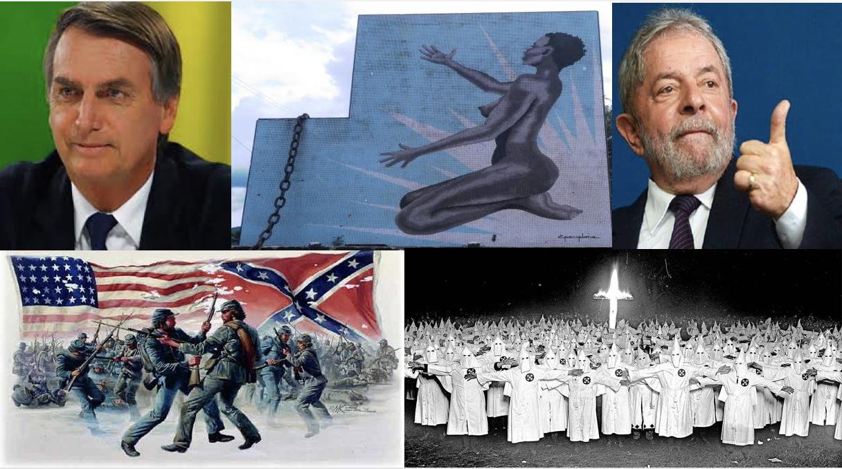O que nos ensina a conexão entre Bolsonaro, Lula, a Ku Klux Klan, a Escravidão, e a Guerra Civil dos EUA?  O que é mais importante: vencer a próxima eleição ou fazer vitoriosa a próxima geração?  Vamos deixar de lado as pirotecnias divisionistas, e acolher o momento de Regenerar que se avizinha…