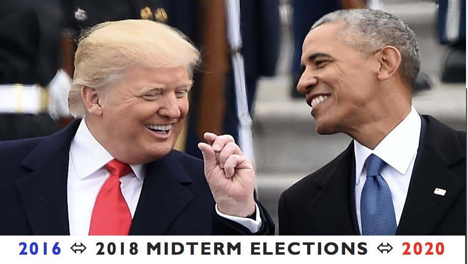 9 dias após Bolsonaro virar Presidente, os EUA vão às urnas!