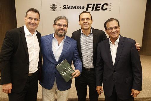 Lançamento do Livro Muda Brasil na Federação das Indústrias do Estado do Ceará (FIEC)