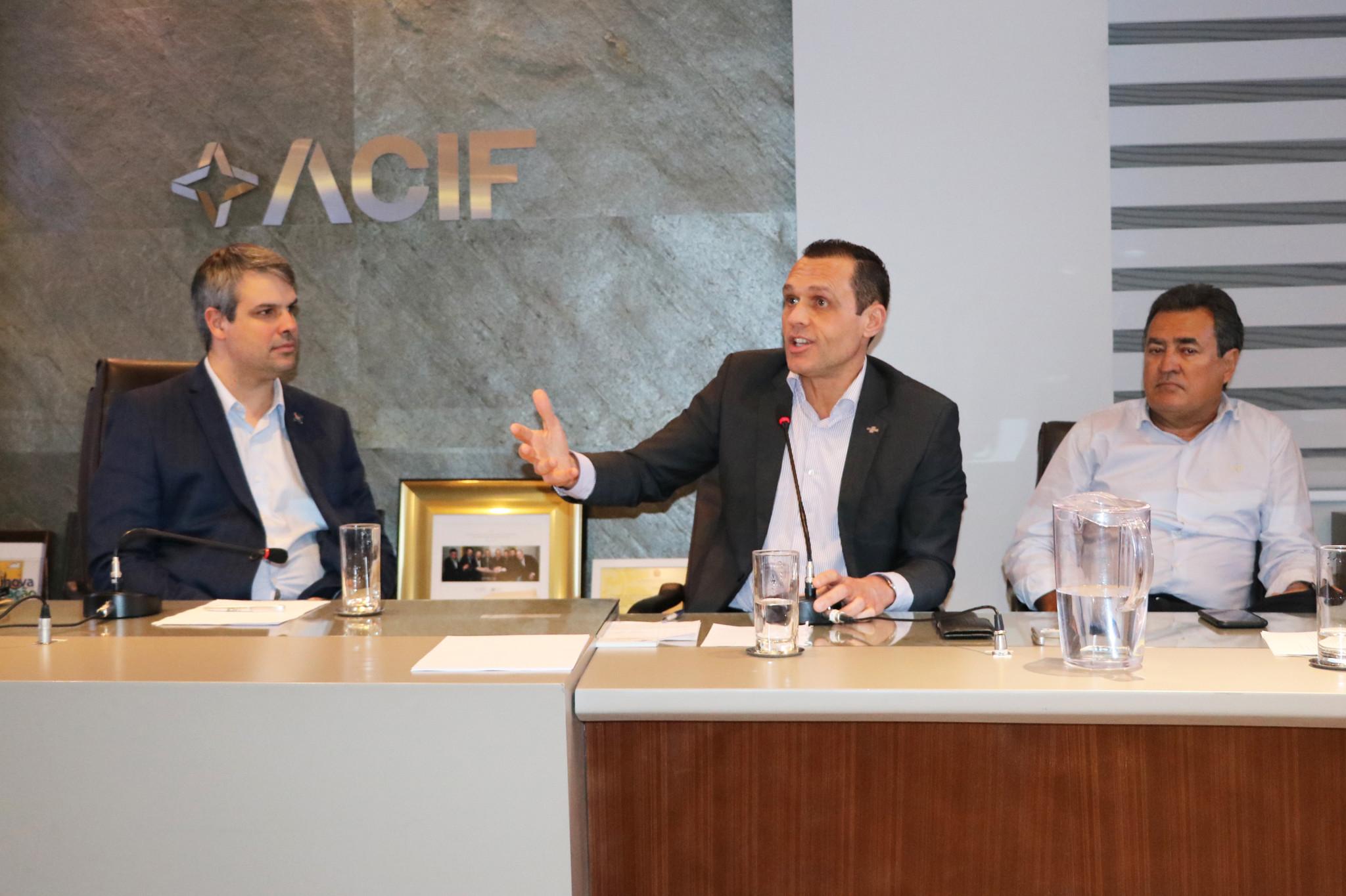 Palestra na Associação de Comércio e Indústria de Florianópolis – ACIF