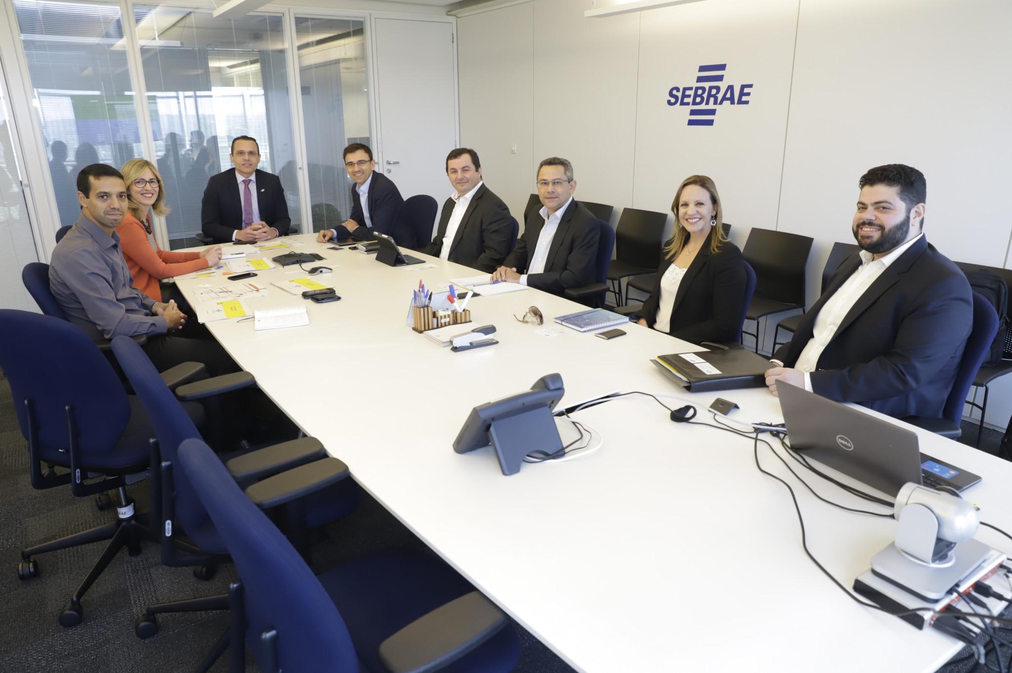 Reunião com o Banco do Brasil