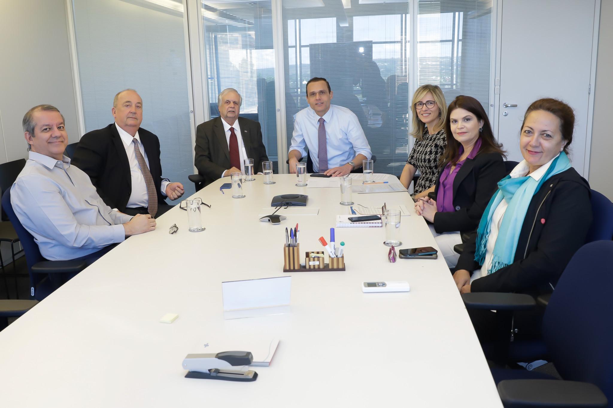 Reunião com o Presidente do Conselho Fiscal do CDN Sérgio Ferrara