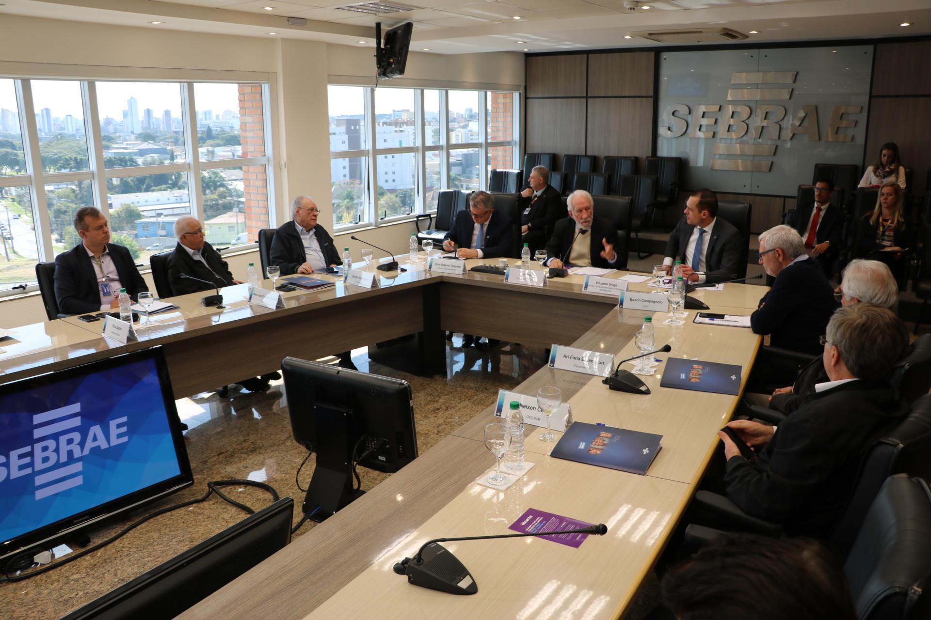 Reunião do CDE – Sebrae/PR