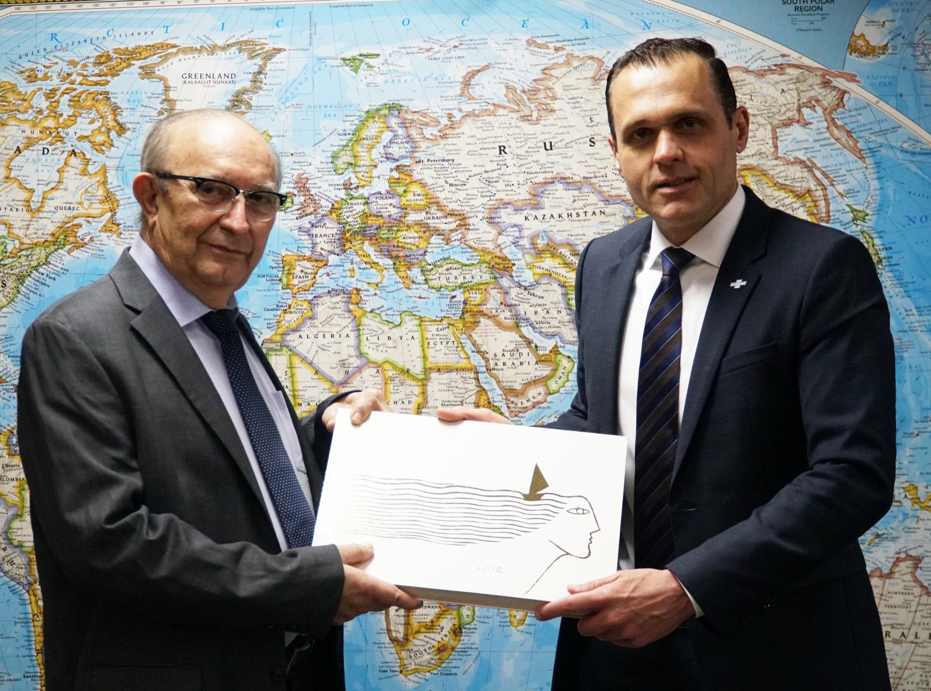 Encontro com o Presidente da FIEP, Francisco Gadelha