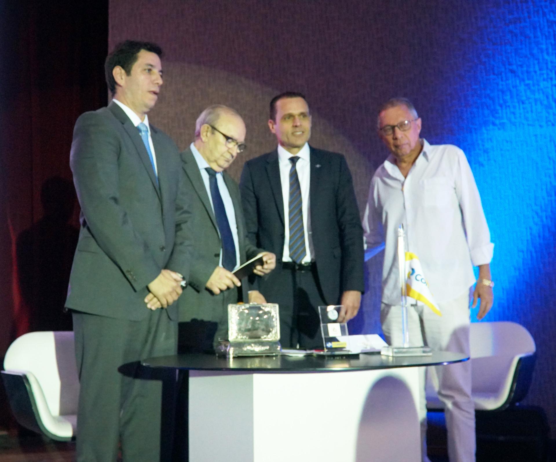 Lançamento do selo personalizado, alusivo aos 70 Anos de fundação da Federação das Indústrias da Paraíba.