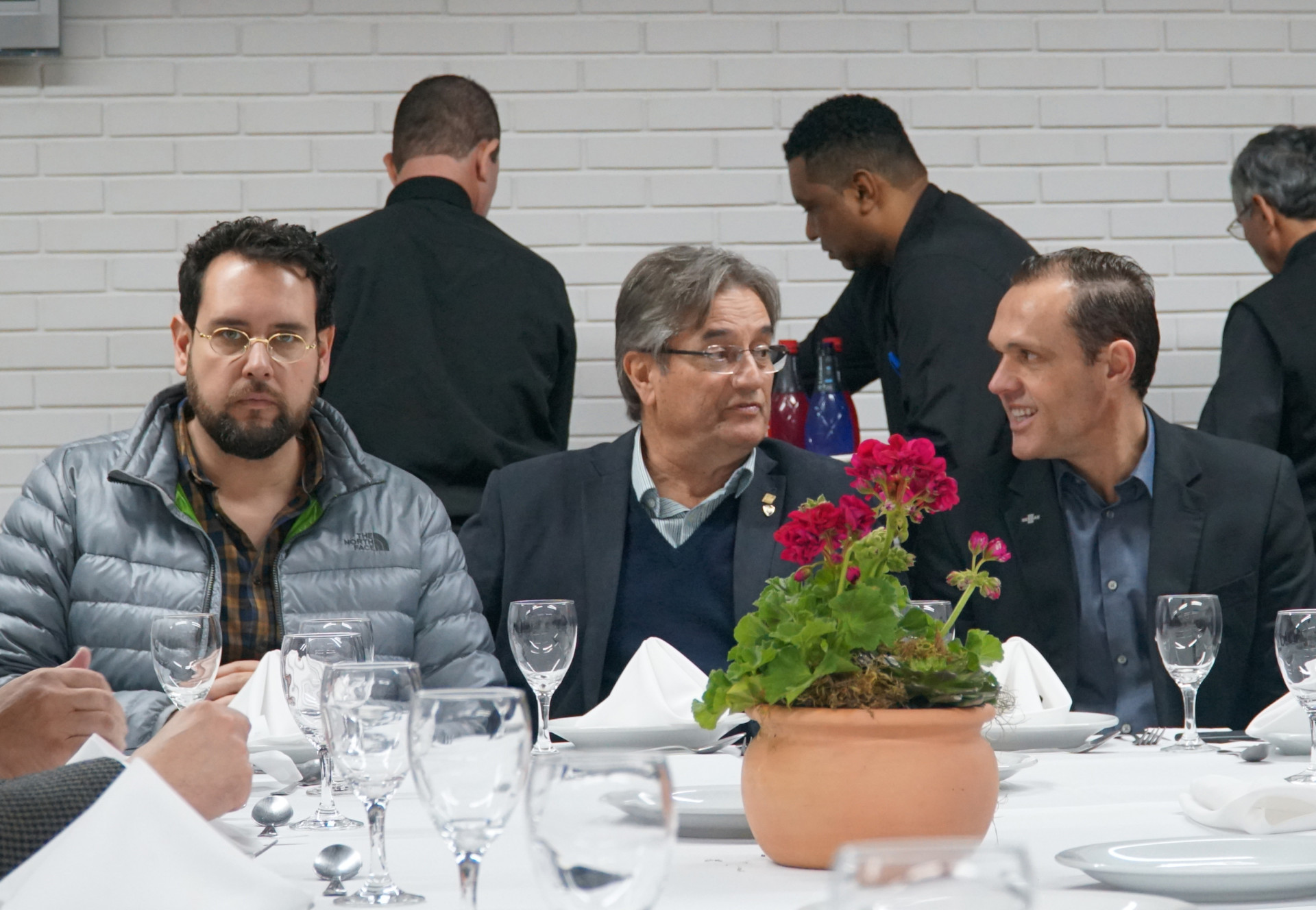 Almoço com a Farsul, na Expointer (RS)