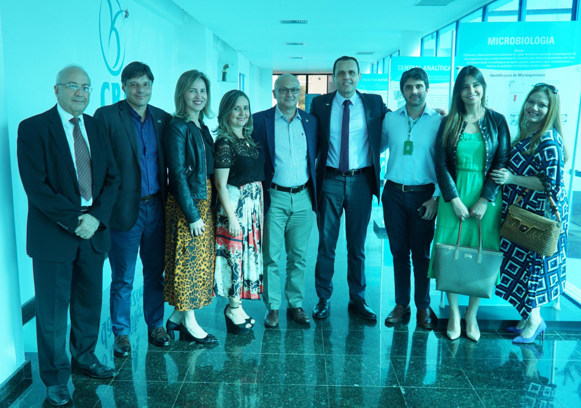 Visita às instalações e apresentação sobre o Centro de Biotecnologia da Amazônia (CBA)