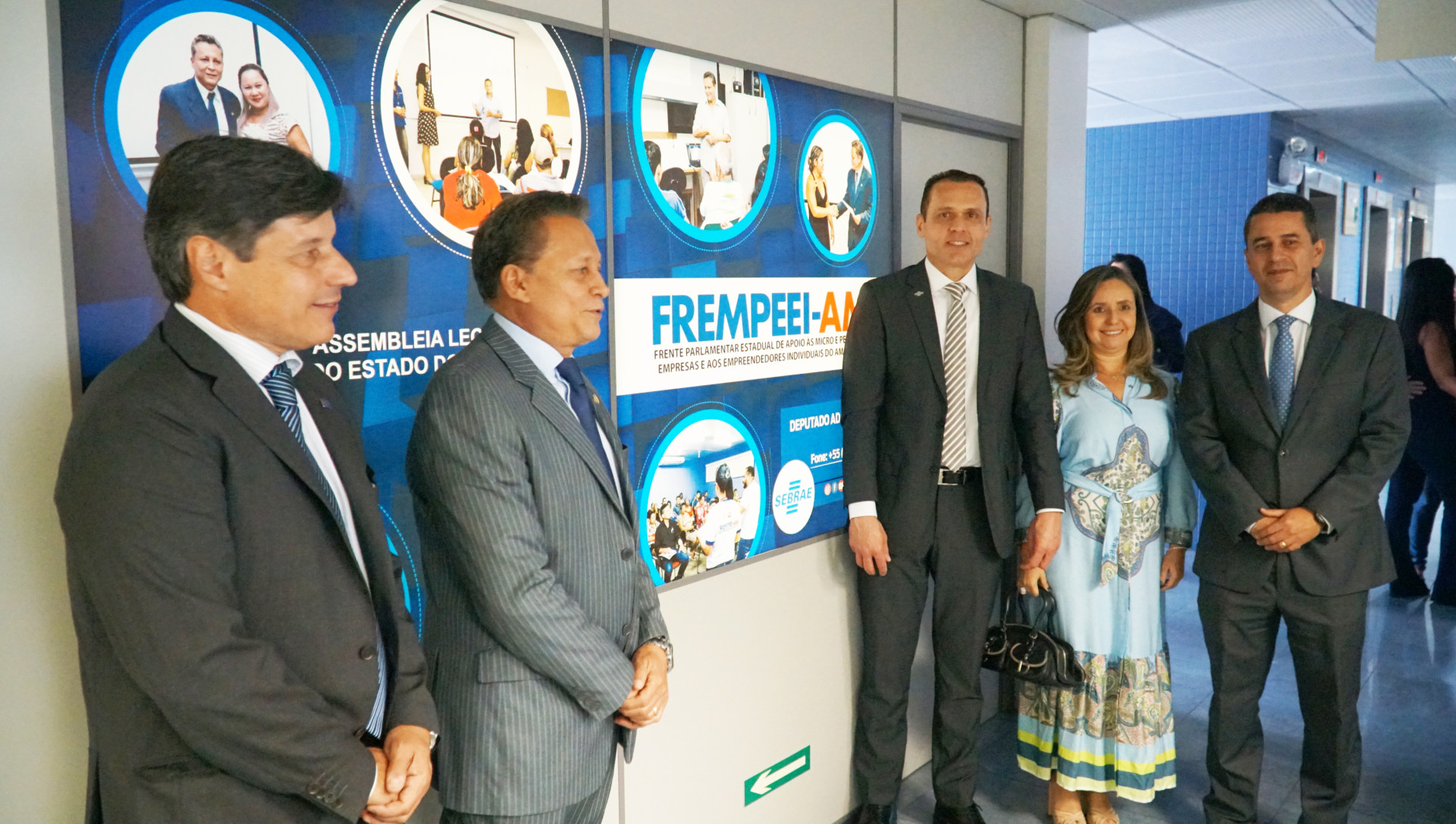Visita à Sala do Empreendedor, localizada na Assembleia Legislativa Manaus