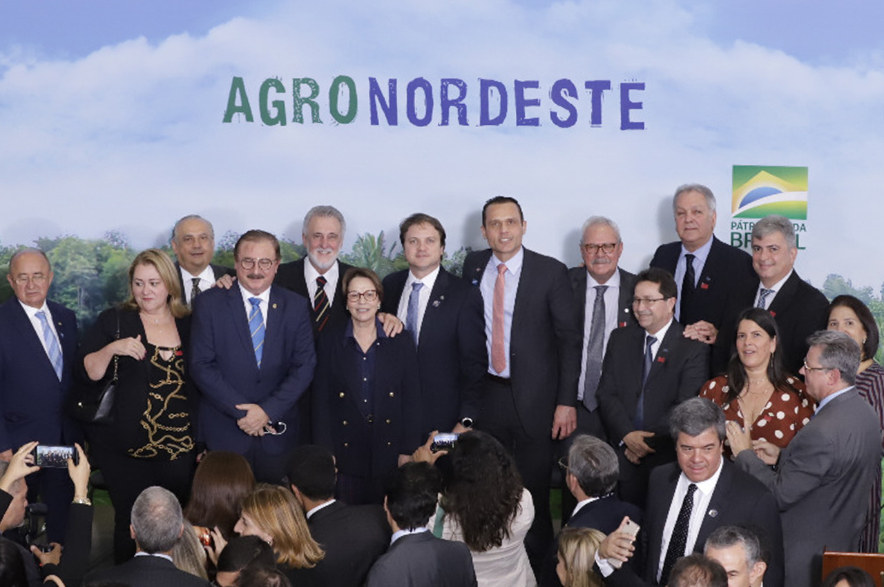 Lançamento do Plano AgroNordeste no Palácio do Planalto.