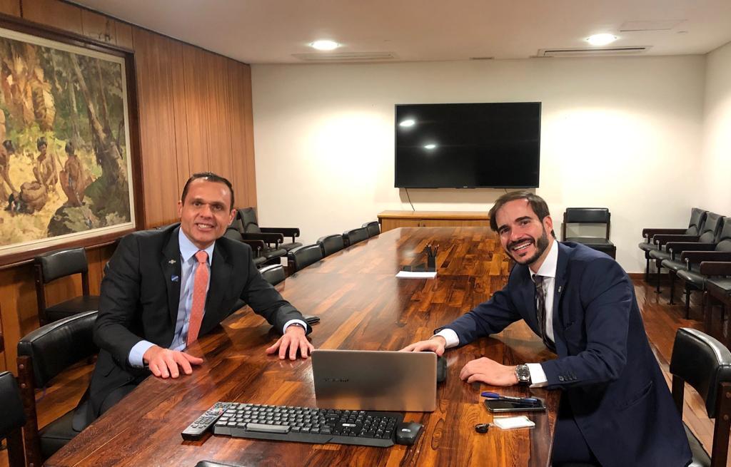 Reunião com Jose Ricardo Veiga – Secretário Especial de Modernização do Estado