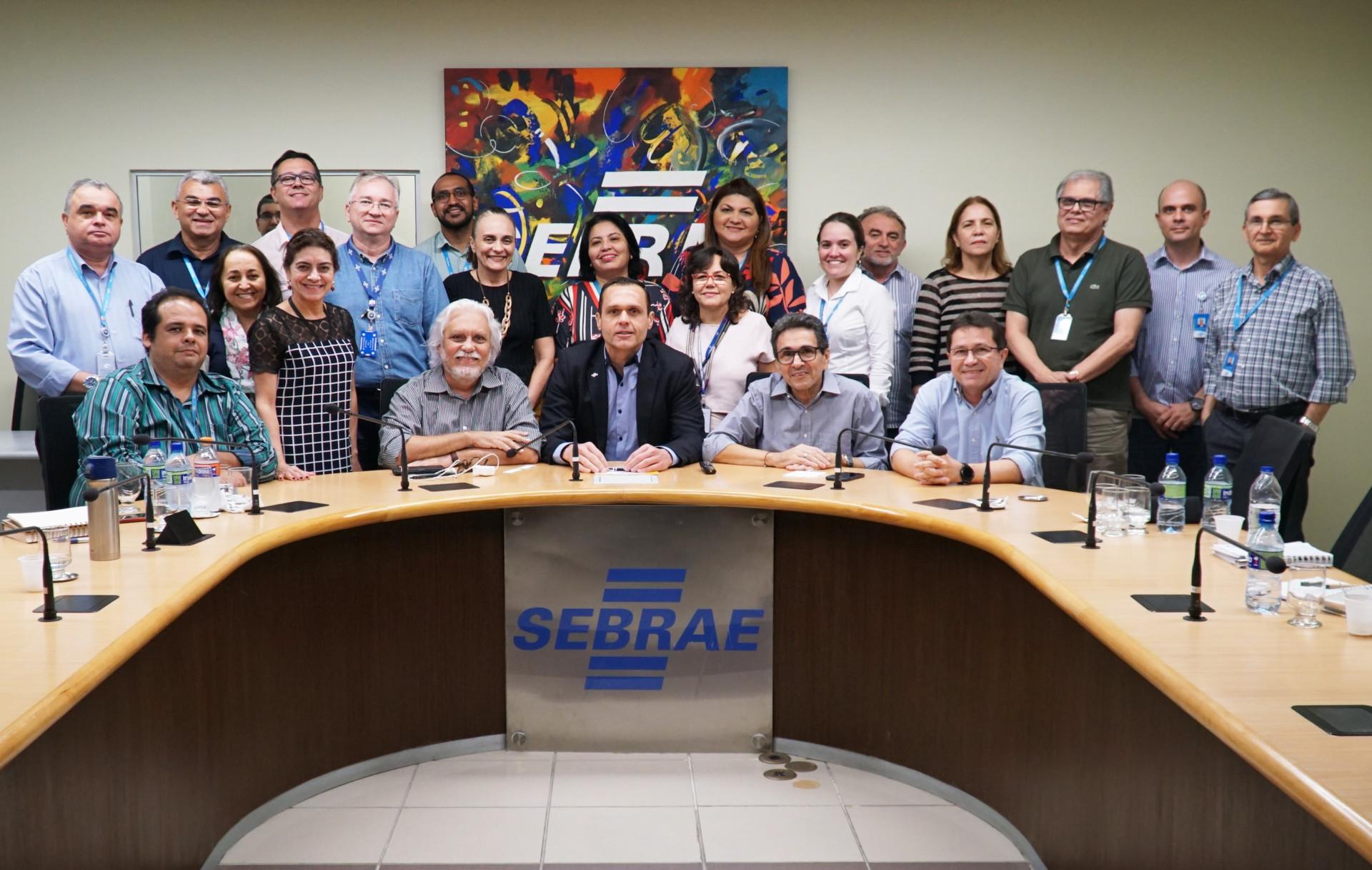 Reunião com os Gerentes do Sebrae-CE para conhecer os projetos estratégicos