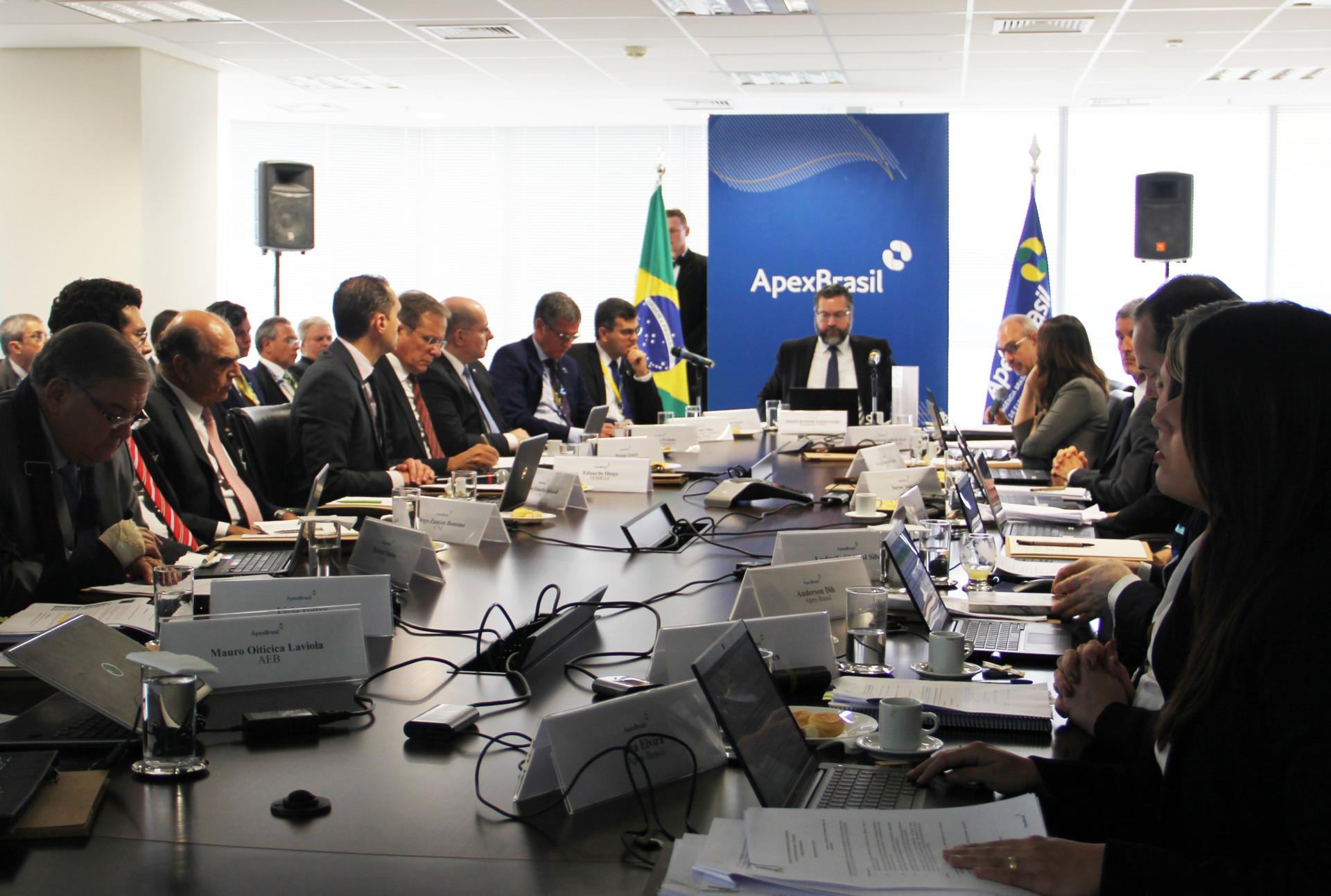 Posse no Conselho Deliberativo da Apex Brasil