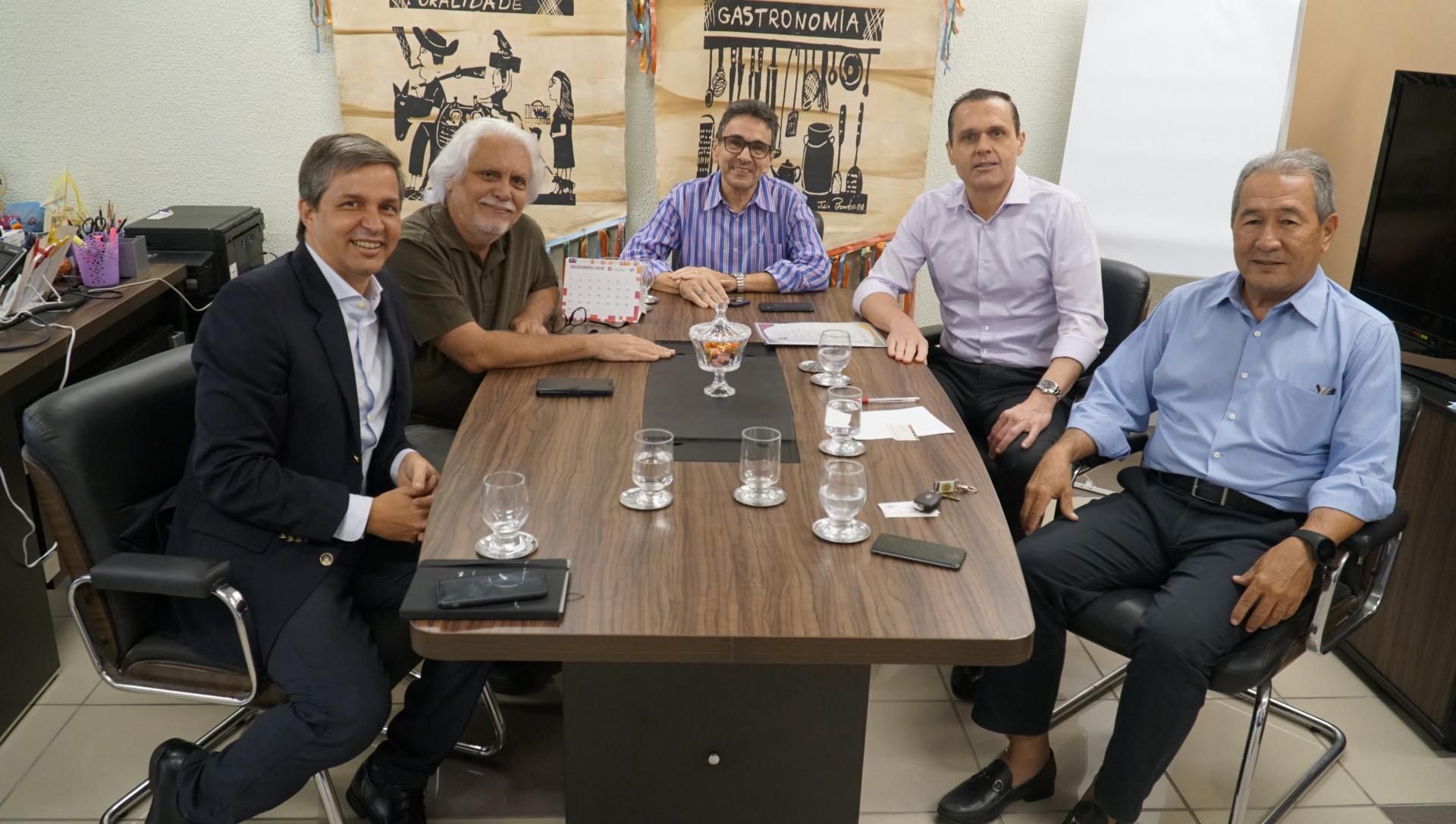 Reunião com a Câmara Brasil Portugal