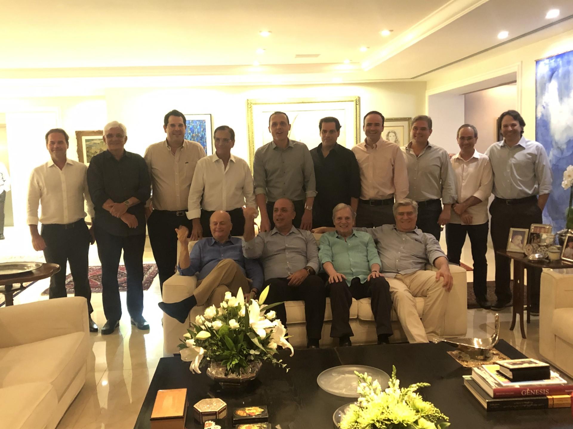 Jantar Mobiliza com o Senador Tasso Jereissati