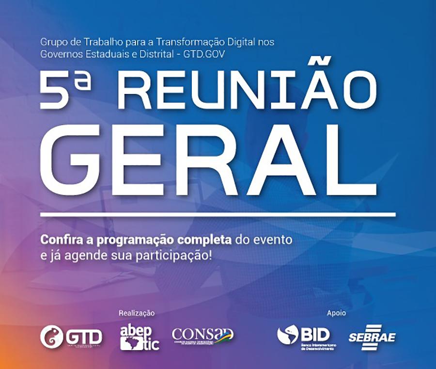 5a Reunião Geral